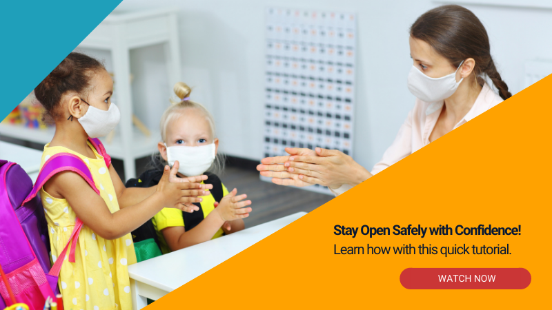 Stay Open Safely with Confidence! Learn how with this quick tutorial.