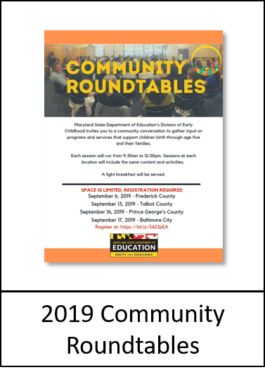 Community Roundtable Flyer image