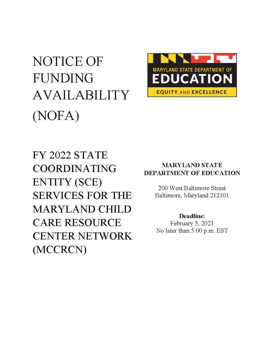 Notice of Funding Availability 2022 MCCRCN
