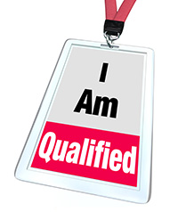 I am qualified