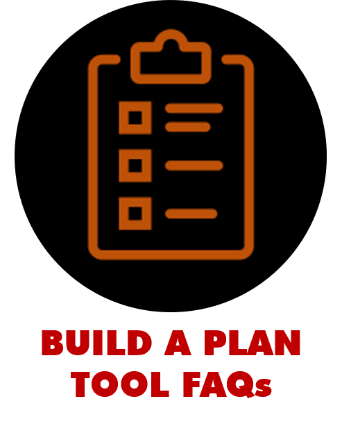 build a plan tool faqs