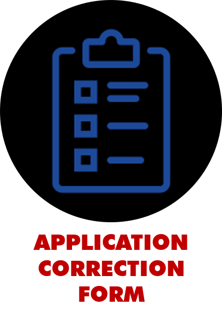 Application Correction Form