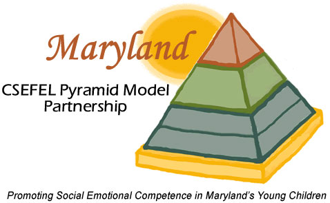 Maryland SEFEL (Social and Emotional Foundations for Early Learning) pyramid logo